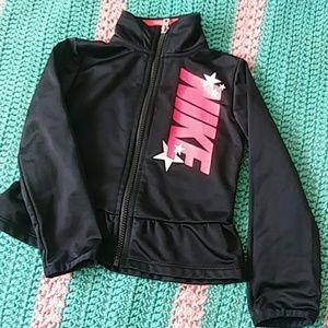 Nike Toddler Girl's Zipped Jacket Sz 3T